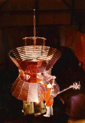 Helios Spacecraft before start
